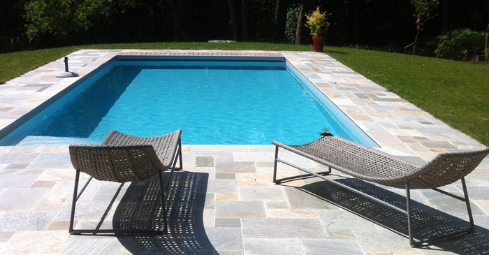 piscine de jardin - Photo